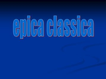 Epica classica - Telecom Italia