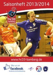 Saisonheft 2013/2014 - bam-magazin.de