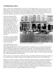 Noll Hardware Store - Marshfield Area Genealogy Group