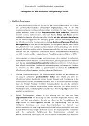 Stellungnahme zur ARD-Digitalstrategie (PDF, 66 kB) - WDR.de