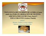 """INFLUENCIA DEL ALMIDÓN DE ACHIRA ... - Repositorio UTN"