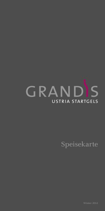 Speisekarte - GRANDIS Laax