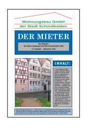 DER MIETER - viademica.verlag berlin