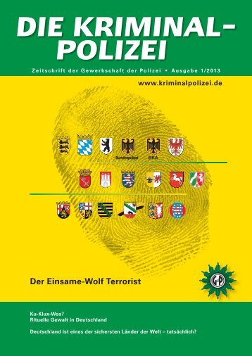 März 2013 - Die Kriminalpolizei
