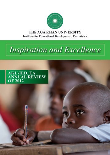 Inspiration and Excellence - Aga Khan University