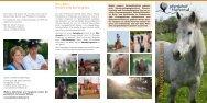 Druckversion Jahresprogramm 2013 - Pferdehof Tiefental