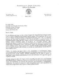 Nomination Portfolio - University System of Georgia