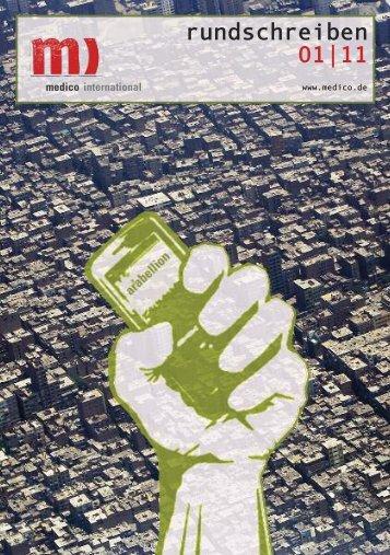 rundschreiben 01|11 - Medico International