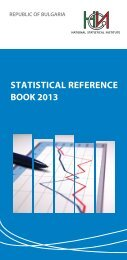 Statistical reference book 2013, NSI