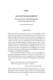 Andrea Eis, An Entanglement - Oakland University