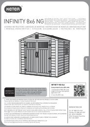 INFINITY 8x6 NG - Factory Direct Storage Sheds, Buildings, Shed Kits