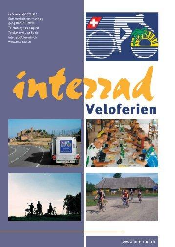 Veloferien - Interrad Sportreisen