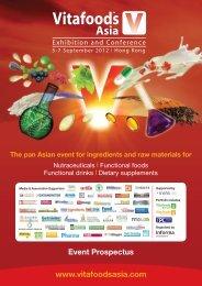 Event Prospectus - Vitafoods Asia