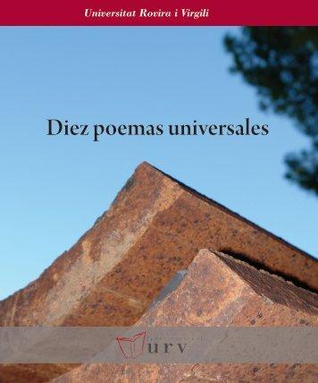 Diez poemas universales - Unión de Editoriales Universitarias ...
