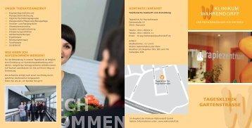 TAGESKLINIK GARTENSTRASSE - Klinikum Wahrendorff GmbH