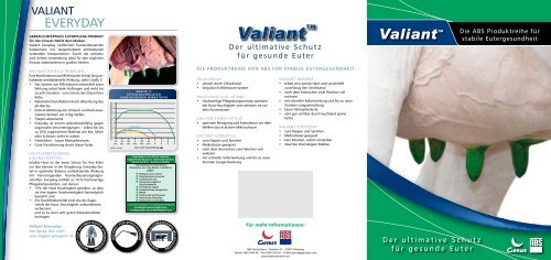 Valiant DE - ABS Deutschland Webseite