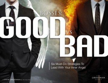 Good Bosses - The Grossman Group