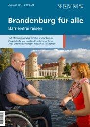 Brandenburg für Alle - Barrierefrei reisen - Brandenburg Barrierefrei