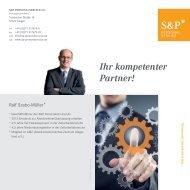 Kundenfolder im PDF-Format (204 KB) - Ihr kompetenter Partner