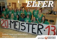 Elfer 10/2013 - Union Natternbach