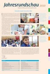 Jahresrundschau 2010 - Stephanus-Stiftung