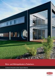 Büro- und Wohngebäude in Paderborn - Alsecco