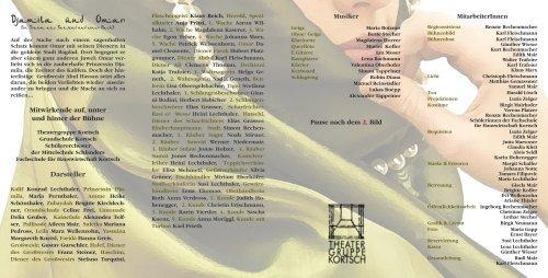 Djamila Omar - Theatergruppe Kortsch