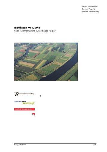 Provincie Noord-Brabant - Commissie voor de milieueffectrapportage