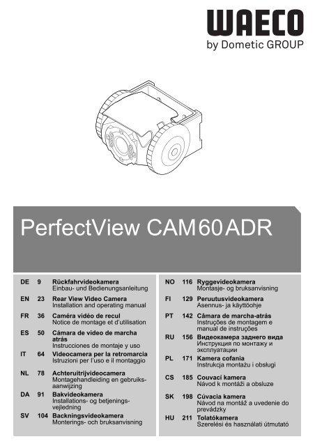 PerfectView CAM60ADR - Waeco