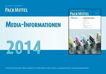 Mediadaten 2014 - packmittel-dfv.de