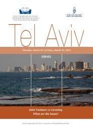 ISRAEL - Union Internationale des Avocats