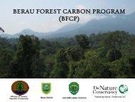 BERAU FOREST CARBON PROGRAM (BFCP) - The REDD Desk