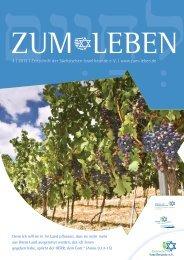 4 | 2013 | Zeitschrift der Sächsischen Israelfreunde e. V. | www.zum ...