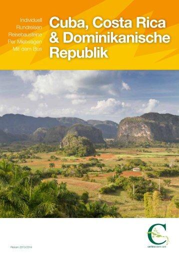 Cuba, Costa Rica &Dominikanische Republik - Caribicinseln.com