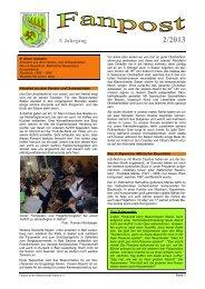 Ausgabe 2/2013 - Blasorchester Sieber eV