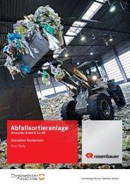 Case Study Abfallsortieranlage Remondis - Rosenbauer ...
