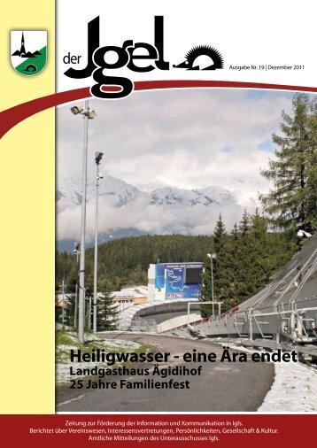 Heiligwasser - eine Ära endet - Heumandl Verlag