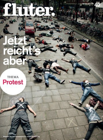 fluter Nr. 40 – Thema Protest