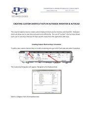 CREATING CUSTOM SHORTCUT KEYS IN AUTODESK INVENTOR ...