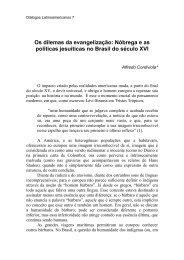 O Diálogo sobre a conversão do gentio foi escrito entre junho de ...