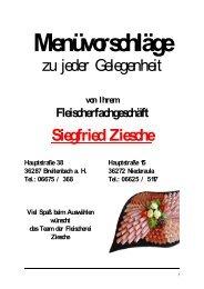 D - Fleischerei & Partyservice Ziesche