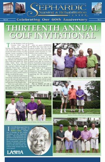 thirteenth annual golf invitational thirteenth annual golf invitational