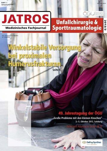 03/2013 - Österreichische Gesellschaft für Unfallchirurgie