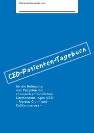 CED-Patienten-Tagebuch