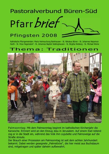 Pfarrbrief Pfingsten 2008.pdf - St. Nikolaus Büren