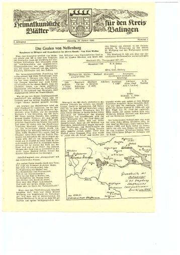 Drei Natur - Heimatkundliche Vereinigung Zollernalb eV