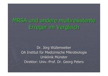 MRSA und andere multiresistente Erreger 30.05.2012 - Caritas ...