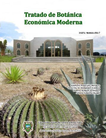 tratado de botánica económica moderna - index