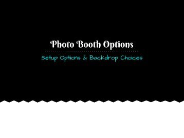 Set Up Guide Look Book - Social Confetti Events