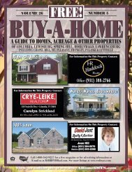 A GUIDE TO HOMES, ACREAGE & OTHER PROPERTIES